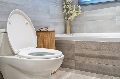 Cleaning & removing stains from toilet