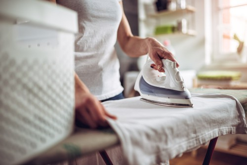 part-time maid for ironing clothes