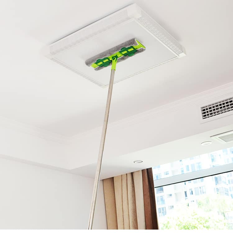 ceiling dusting and cleaning